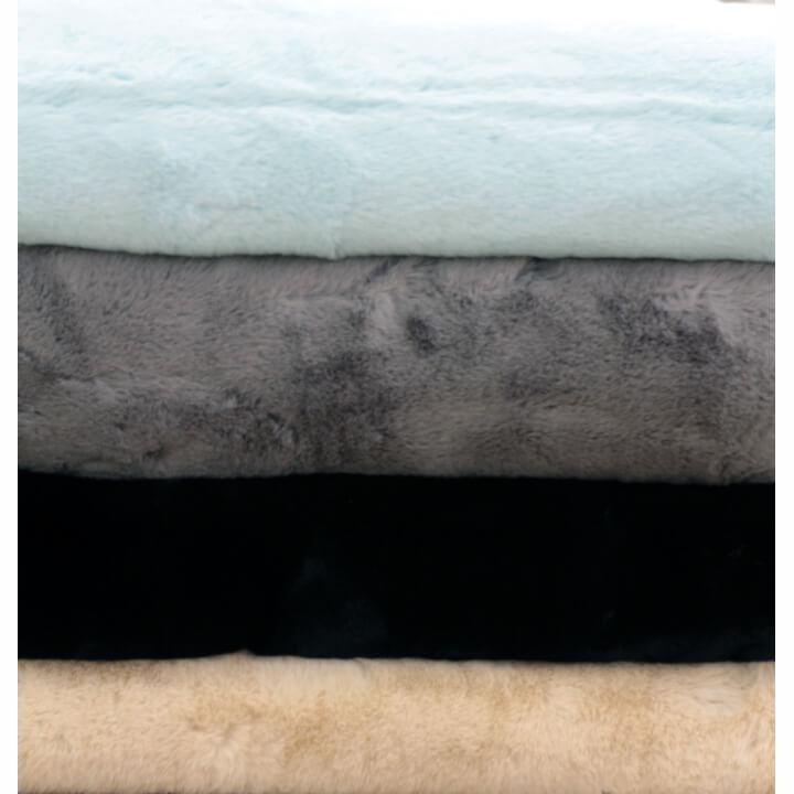 Kožušinová deka, béžová, 150x180, RABITA TYP 2, dostupné farebné varianty