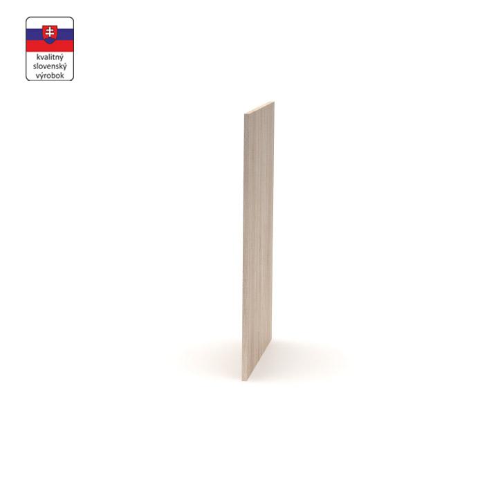 Koncová doska, dub sonoma, DTD laminovaná, NOPL-085-00, na bielom pozadí
