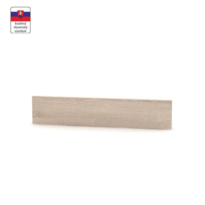Koncový bočný sokel na nízke skrinky, dub sonoma, NOPL-062-00