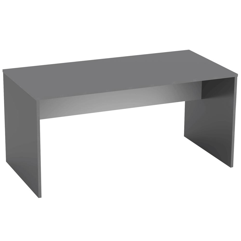 Masă de birou, grafit/alb, RIOMA NEW TYP 16
