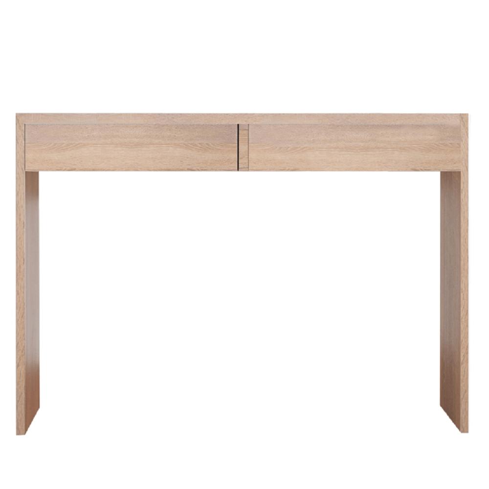 Măsuţă de toaletă/masă de birou, stejar sonoma, VIOLET