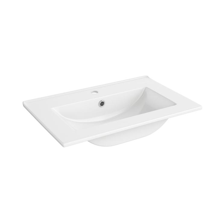 Keramické umývadlo, biele, LAURA