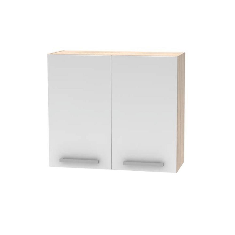 Felső szekrény, NOPL-014-OH, sonoma tölgy/fehér