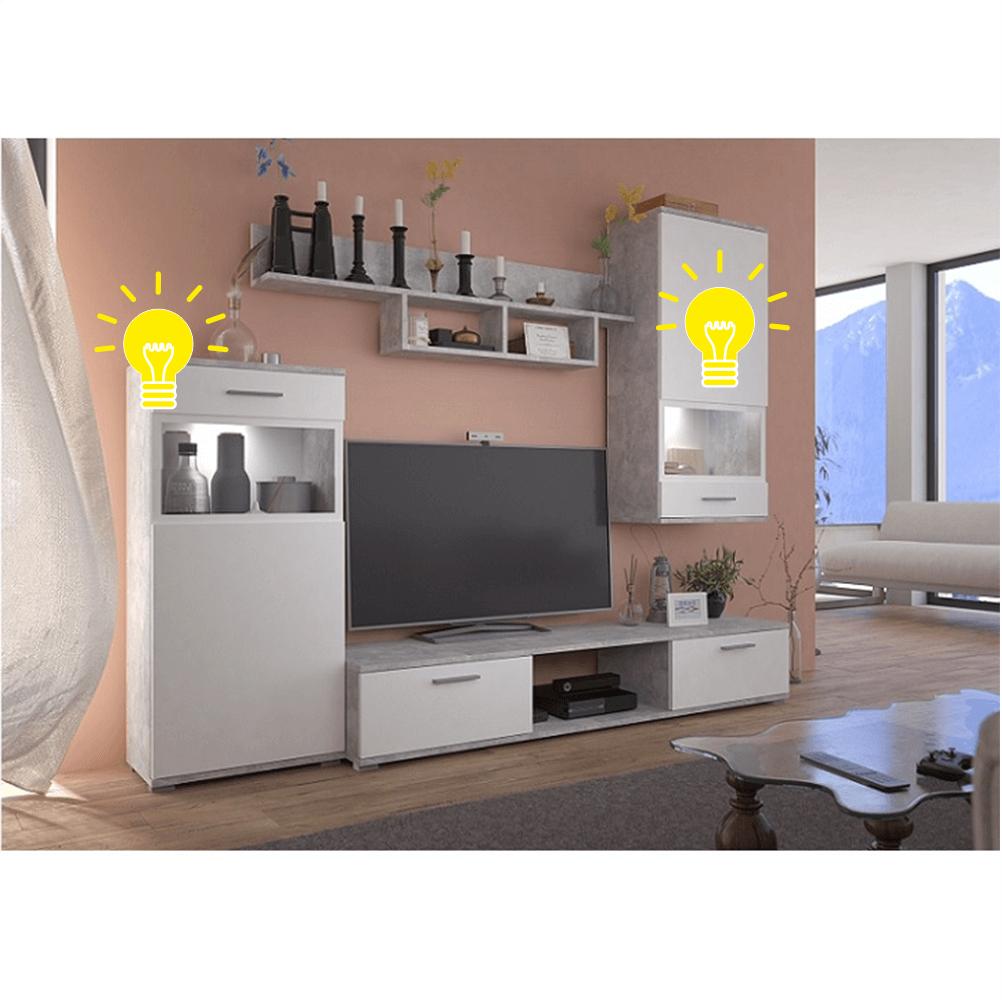 iluminare LED pentru mobilier living, BREAK