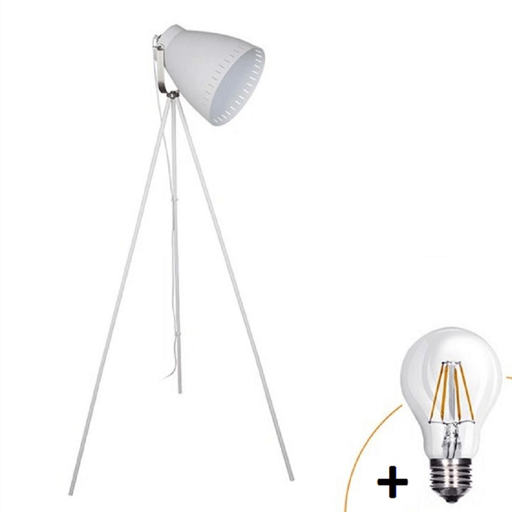 Lampa de podea wa001-w, oţel+cupru, TORINO
