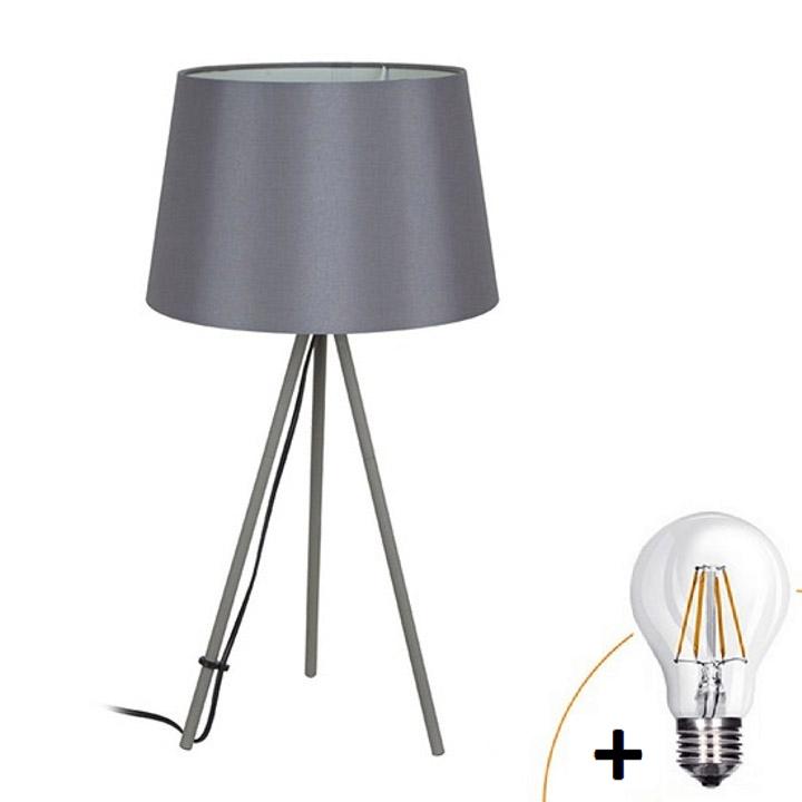 Lampă de masă Milano wa005-g,gri, trepied