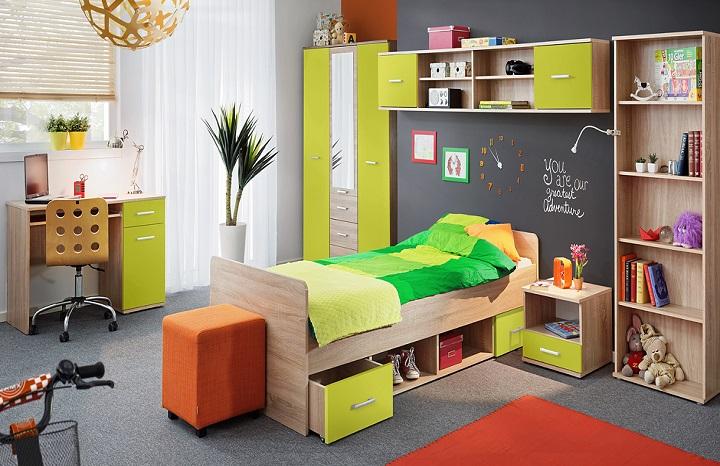 Nábytok do chlapčenskej izby Emio