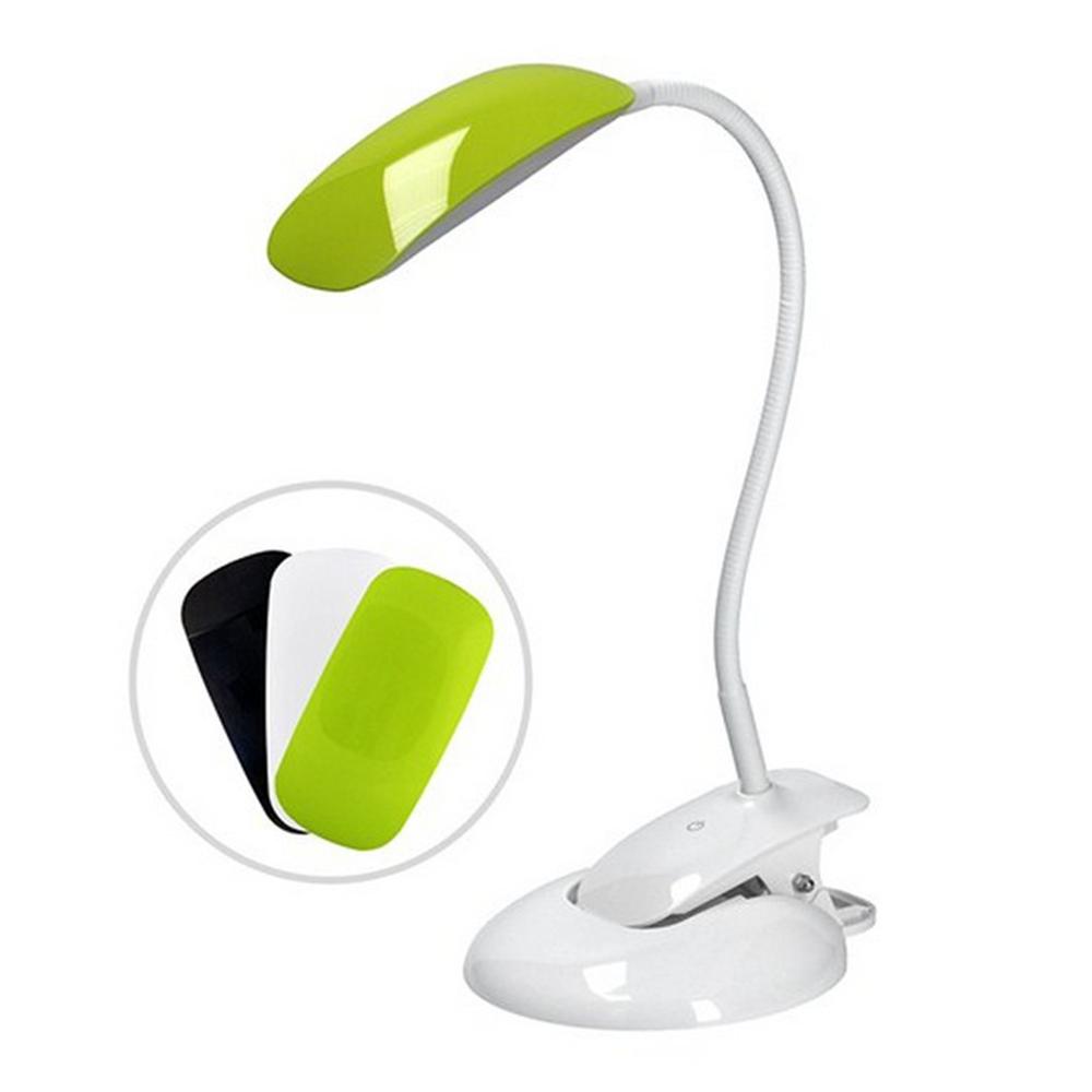 Lampa  LED  de masă W042 baza albă