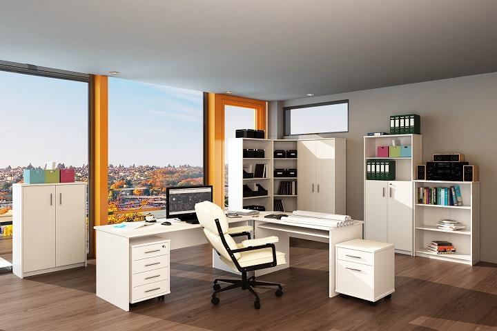 Kancelársky nábytok Johan New biela