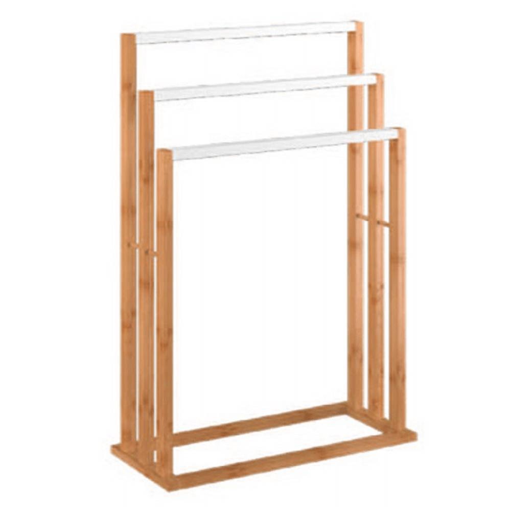Stand pt. prosoape, bambus/alb, KOMO