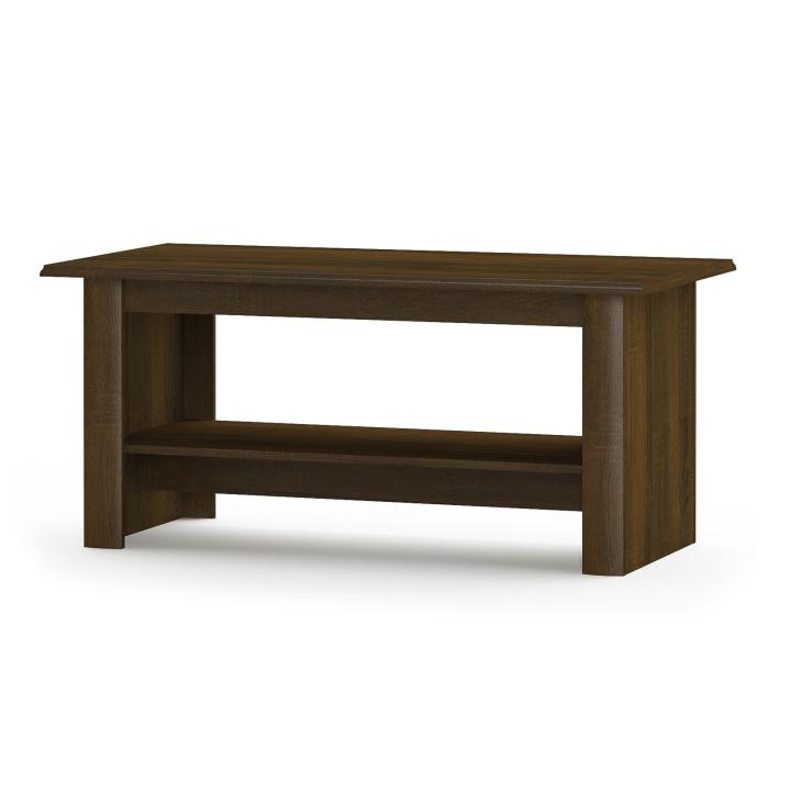 Konferenčný stolík, dub sonoma čokoláda, DTD laminovaná,  PARMY