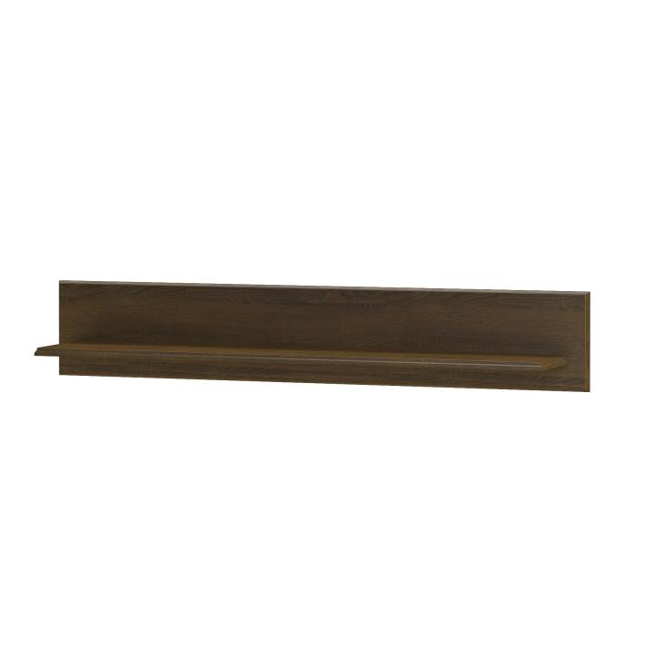 Polica 150, dub sonoma čokoláda, DTD laminovaná,  PARMY