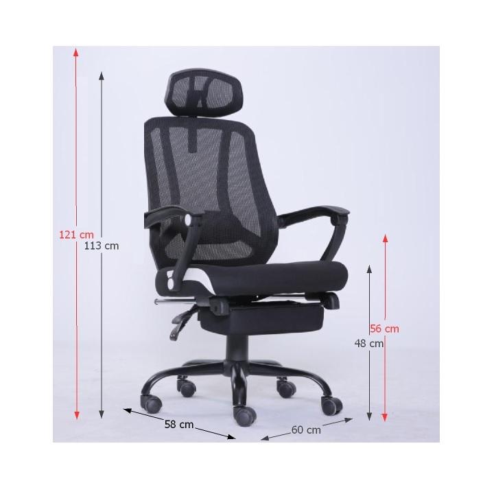 Kancelárske kreslo, čierna, SIDRO, poškodený tovar