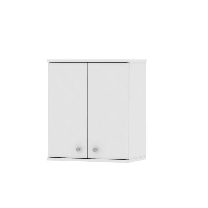 Horná závesná skrinka, biela, na bielom pozadí, GALENA SI08