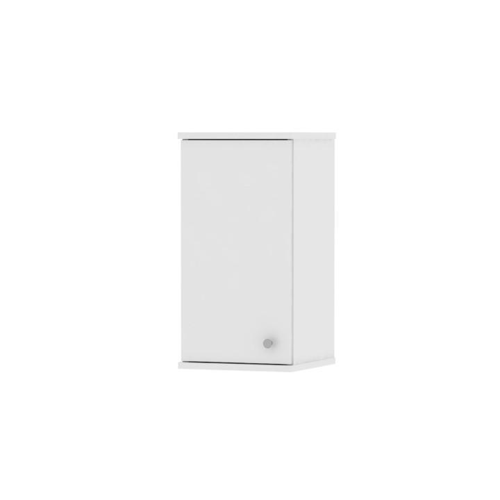Horná závesná skrinka 1D, biela, na bielom pozadí, GALENA SI09