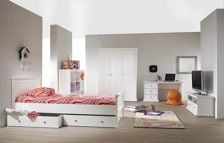 Spálňový nábytok Paris biela