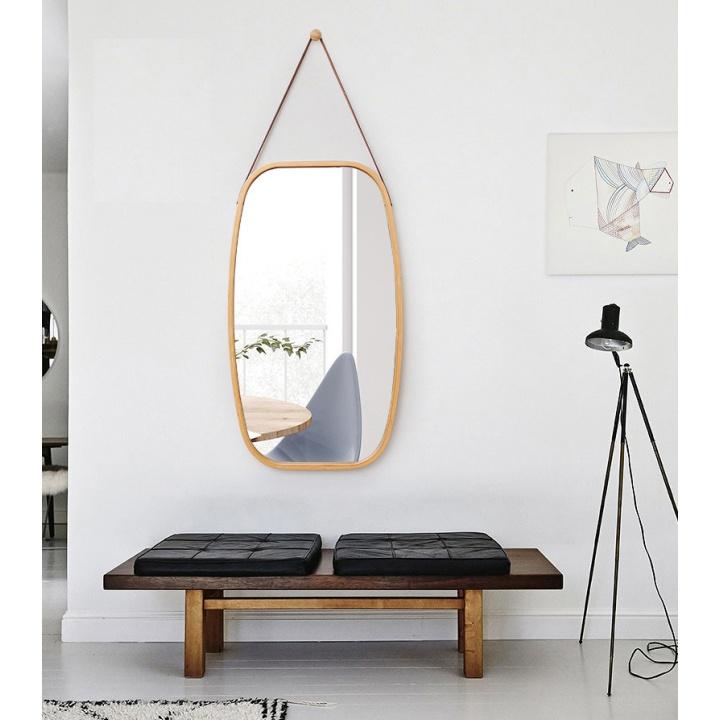 Zrkadlo, prírodný bambus, LEMI 3 interier chodby