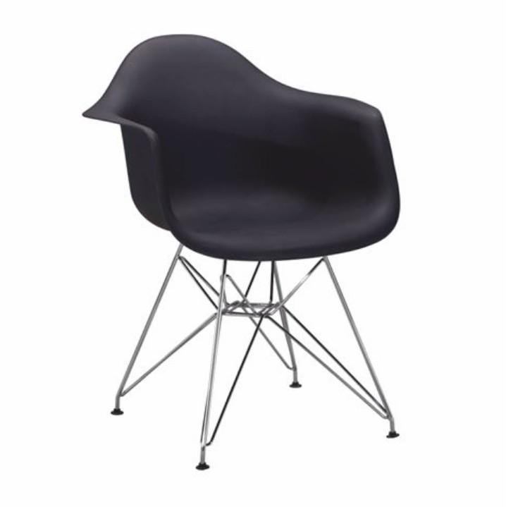 Fotel, fekete, FEMAN 3 NEW