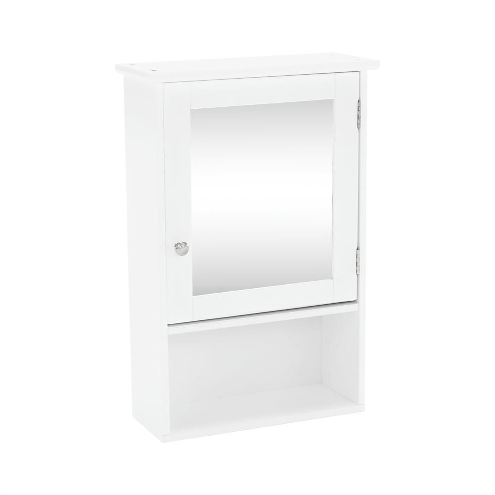 Dulap suspendat cu oglindă, alb, ATENE TIPUL 2