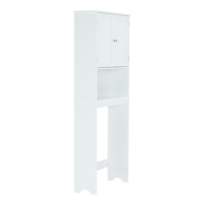 Skrinka nad WC, biela, ATENE TYP 5, pohľad z boku