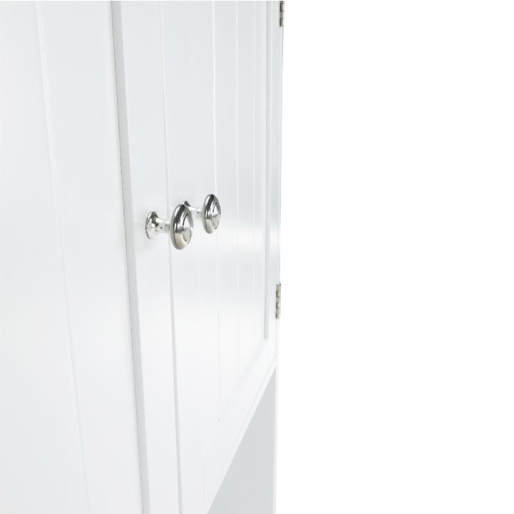 Skrinka nad WC, biela, ATENE TYP 5, úchyty