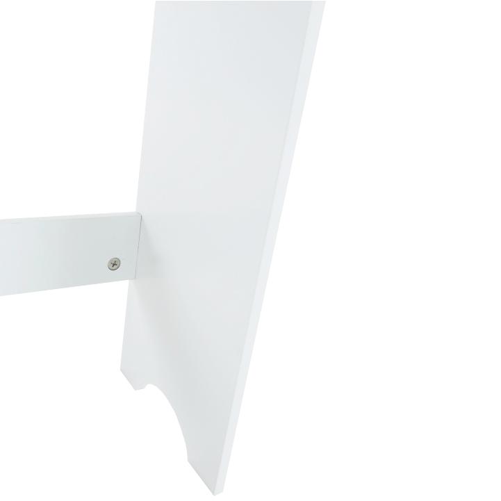 Skrinka nad WC, biela, ATENE TYP 5, nožička