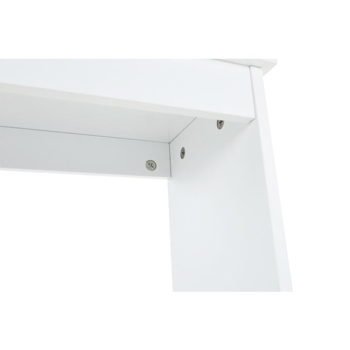 Skrinka nad WC, biela, ATENE TYP 5, spodný roh