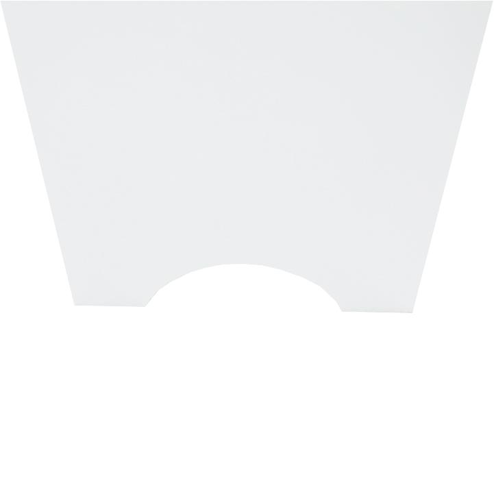 Skrinka nad WC, biela, ATENE TYP 5, detail na nožičky