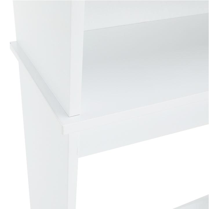 Skrinka nad WC, biela, ATENE TYP 5, detail na skriňu