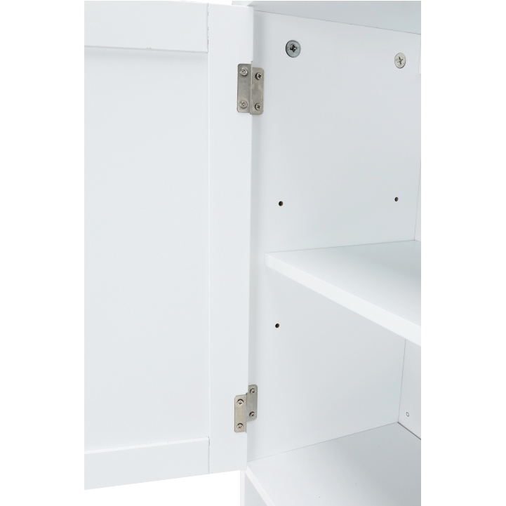 Skrinka nad WC, biela, ATENE TYP 5, vnútro