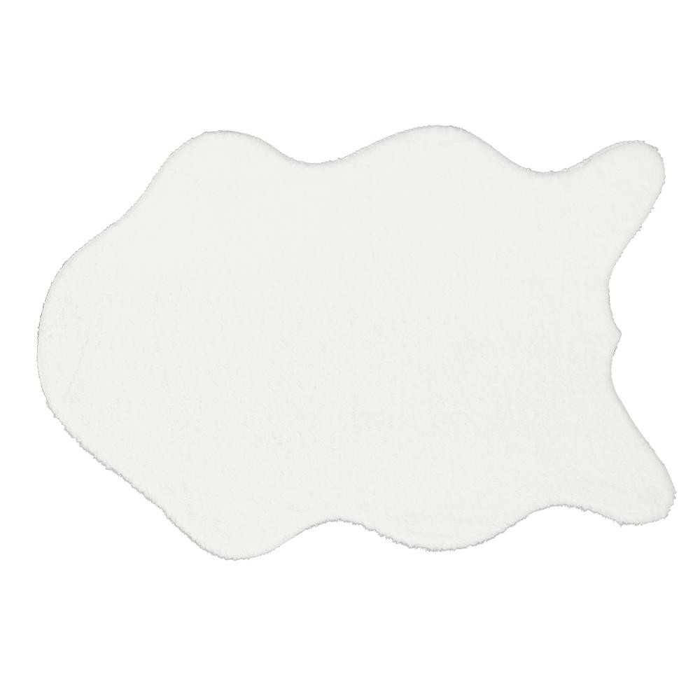 Blană artificială, alb, 60x90, RABIT NEW TYP 7