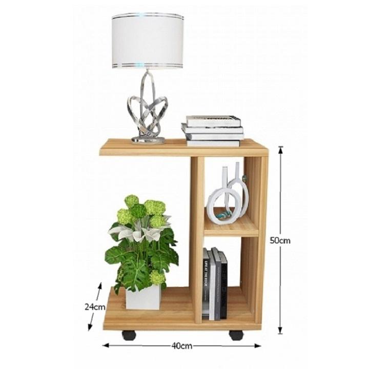Príručný stolík, drevo borovica, s rozmermi, ABBAS NEW