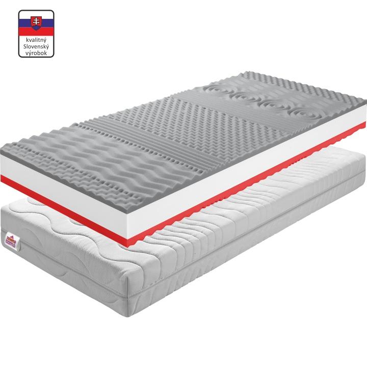 Matrac, penový, 90x200, TEMPO 30 NEW, slovenský výrobok