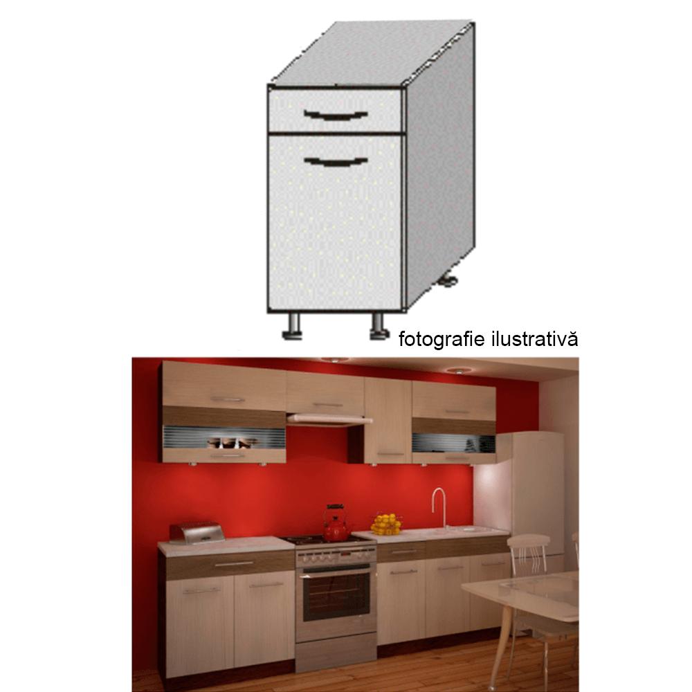 Dulap bucătărie, rigoleto dark+light/wenge, JURA NEW IA D-40