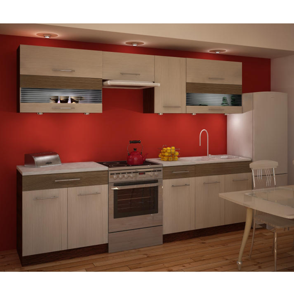 Dulap bucătărie, rigoleto dark+light/wenge, JURA IA S-40