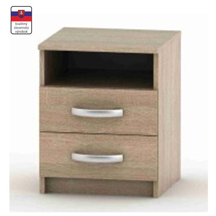 Nočný stolík, dub sonoma, BETTY 2 BE02-018-00, vrátený tovar