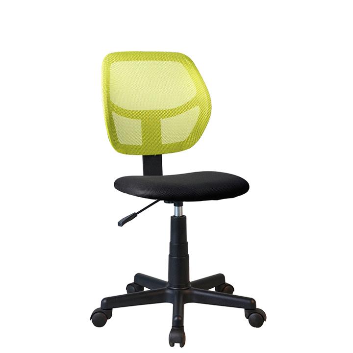 Otočná stolička, zelená, MESH