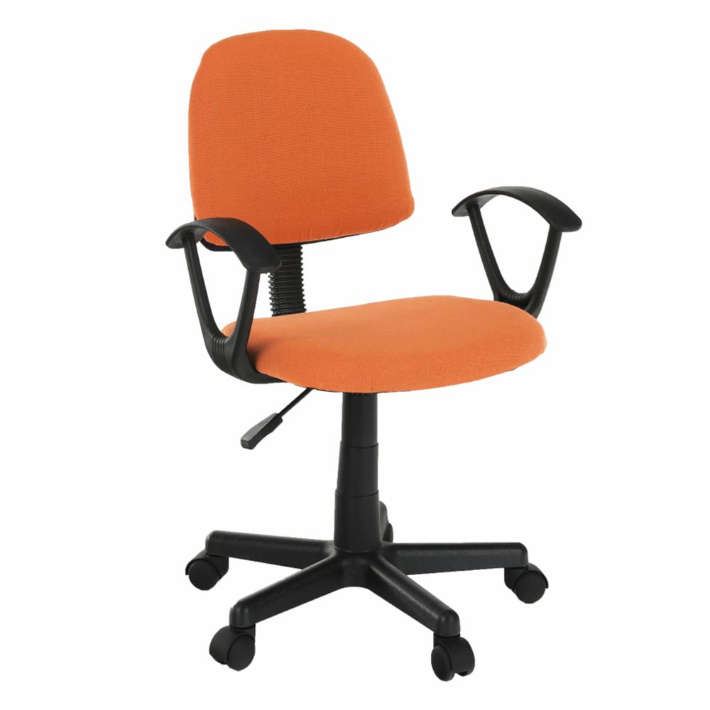 Scaun de birou, portocaliu / negru, TAMSON