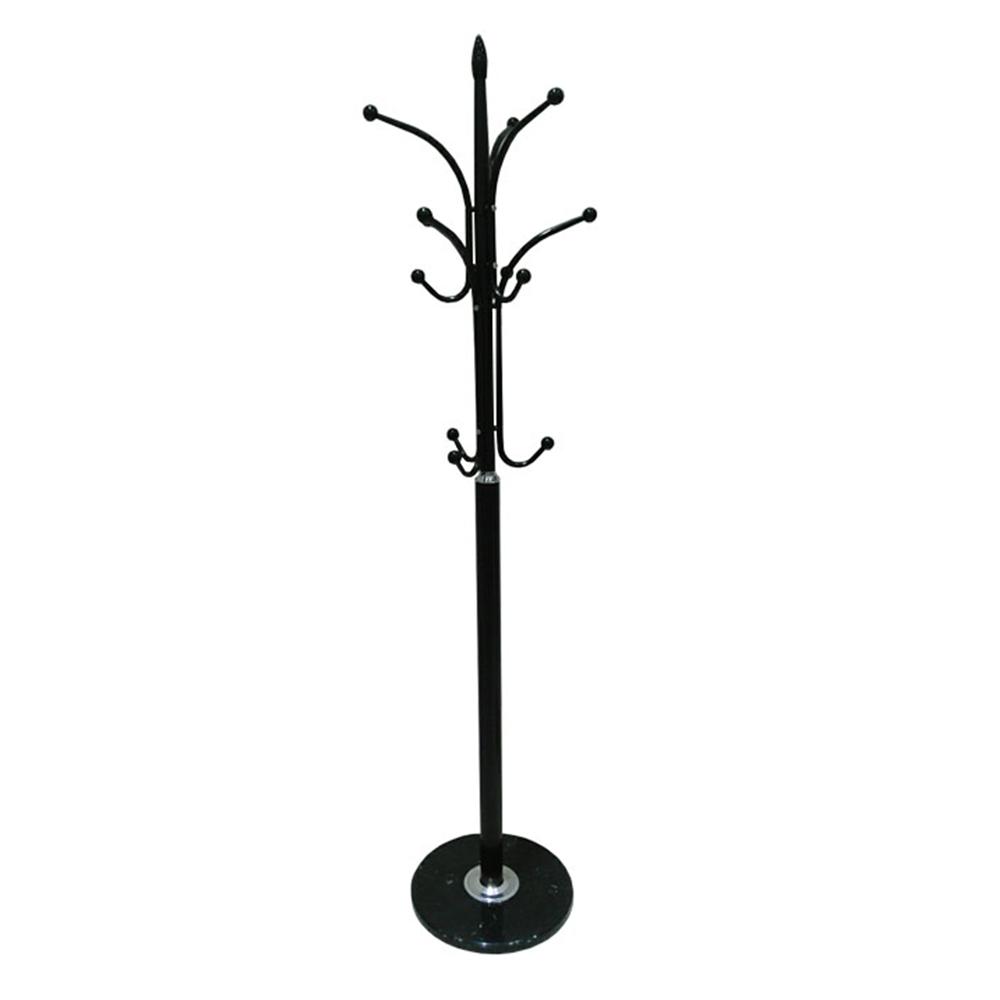 Cuier, metal / marmură neagră, BELVIN