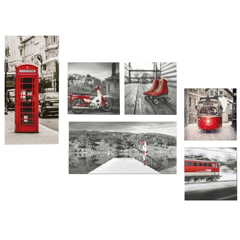 Vászonra nyomtatott festmény, színes, DX TYP 2 LONDON