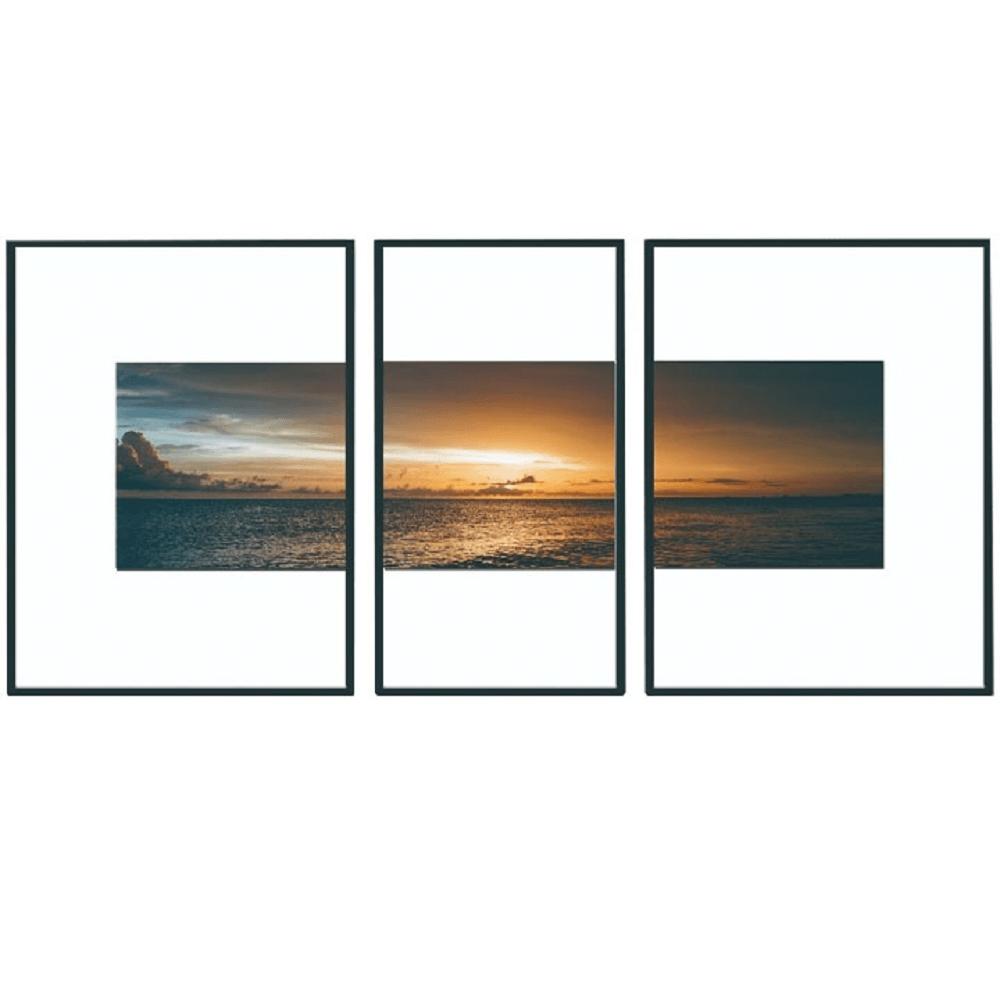 Tablou vitrat imprimat, multicolor, DX TYP 13 SUNSET