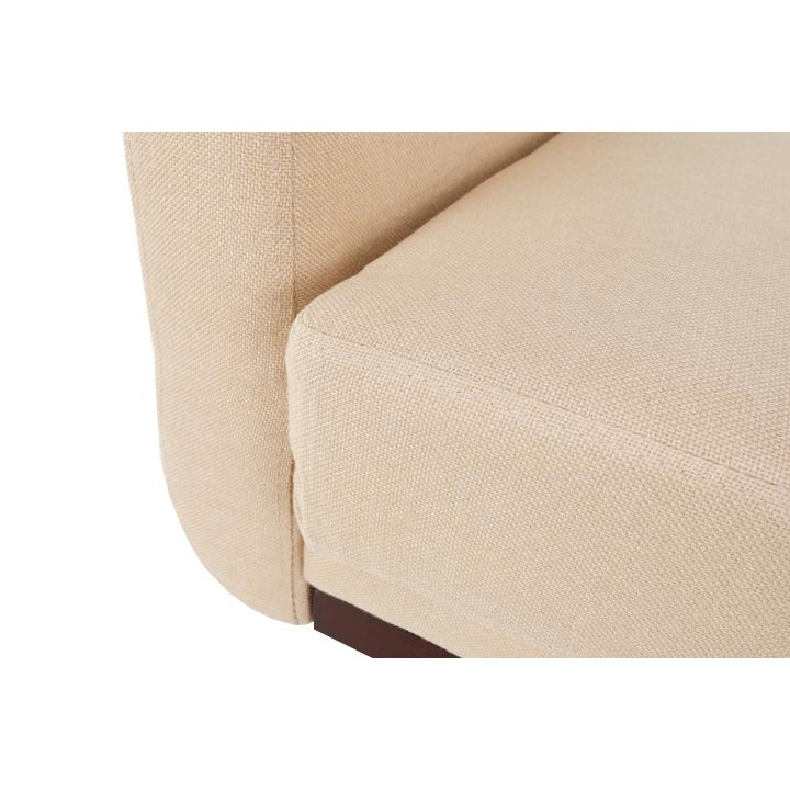 Rozkladacia pohovka, béžová, ARKADIA, sedadlo