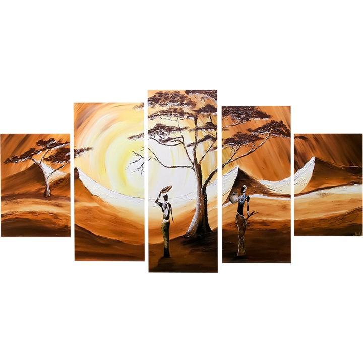 Ručne maľovaný obraz, s motívom, 150x70, BB00094R