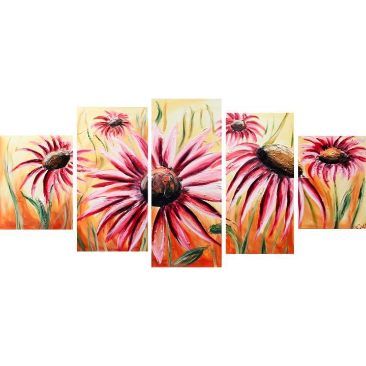 Obraz, ručne maľovaný, 100x60 cm, BB00152R
