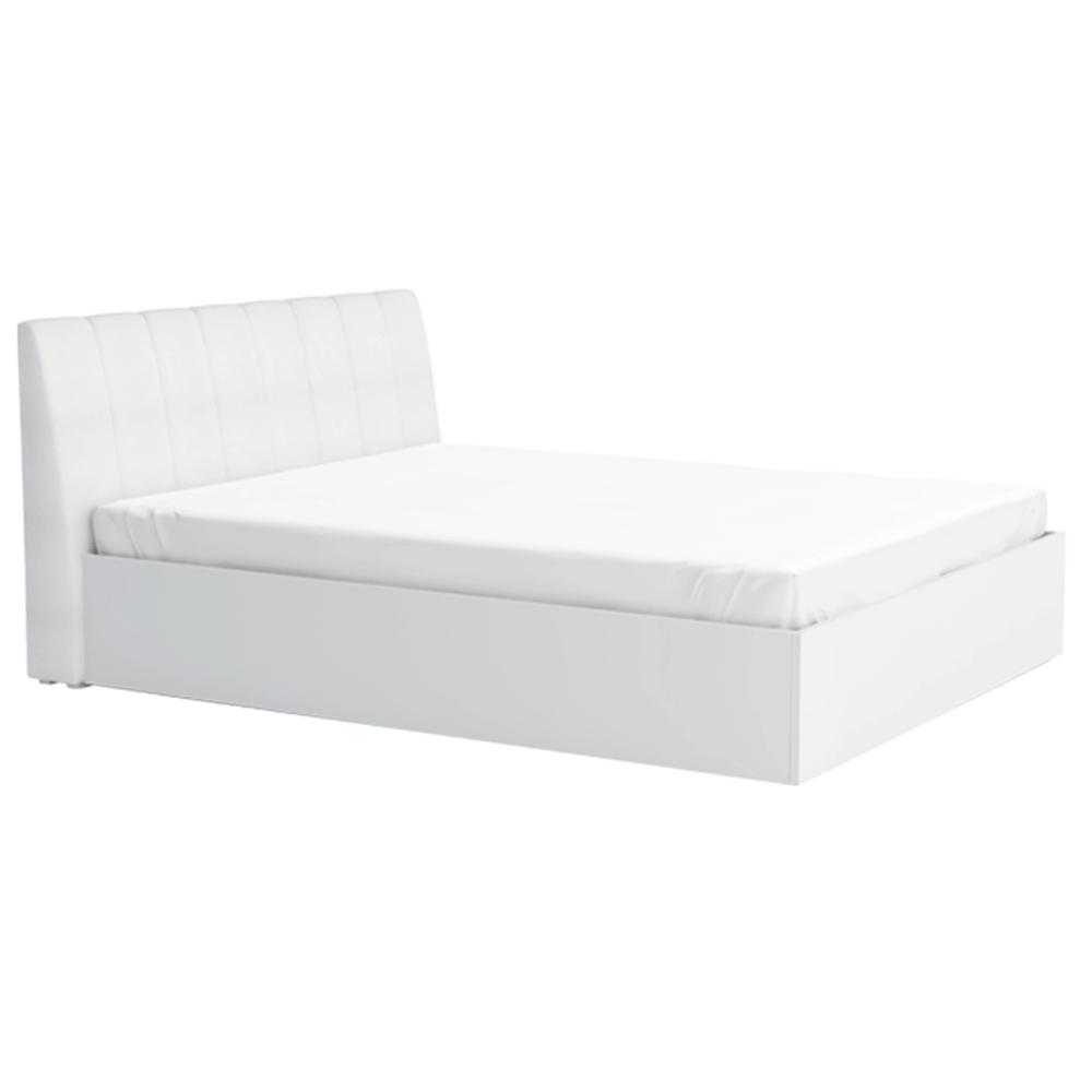 Ágy, fehér, 160x200, ITALIA NEW