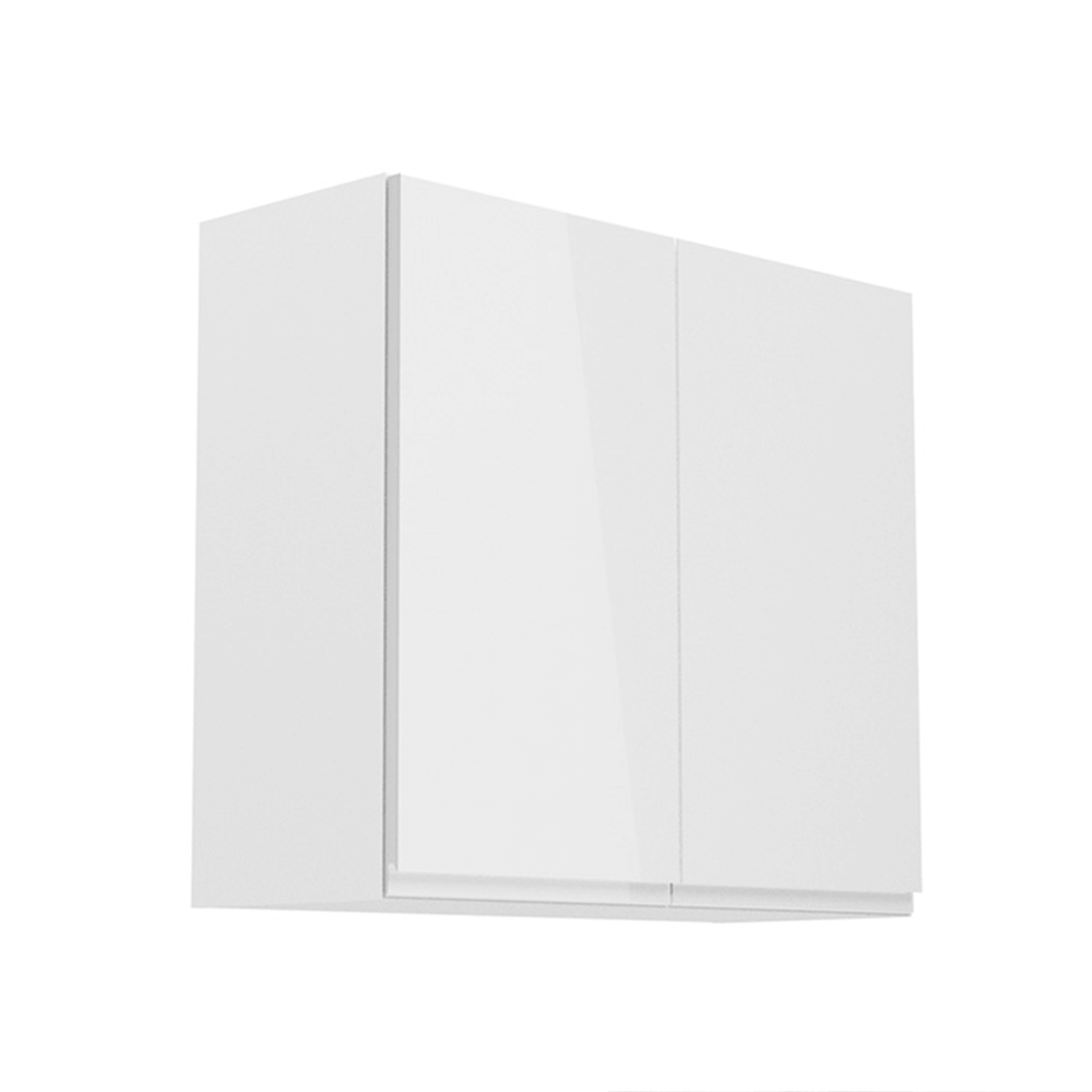 Dulap superior, alb/alb extra lucios, AURORA G81