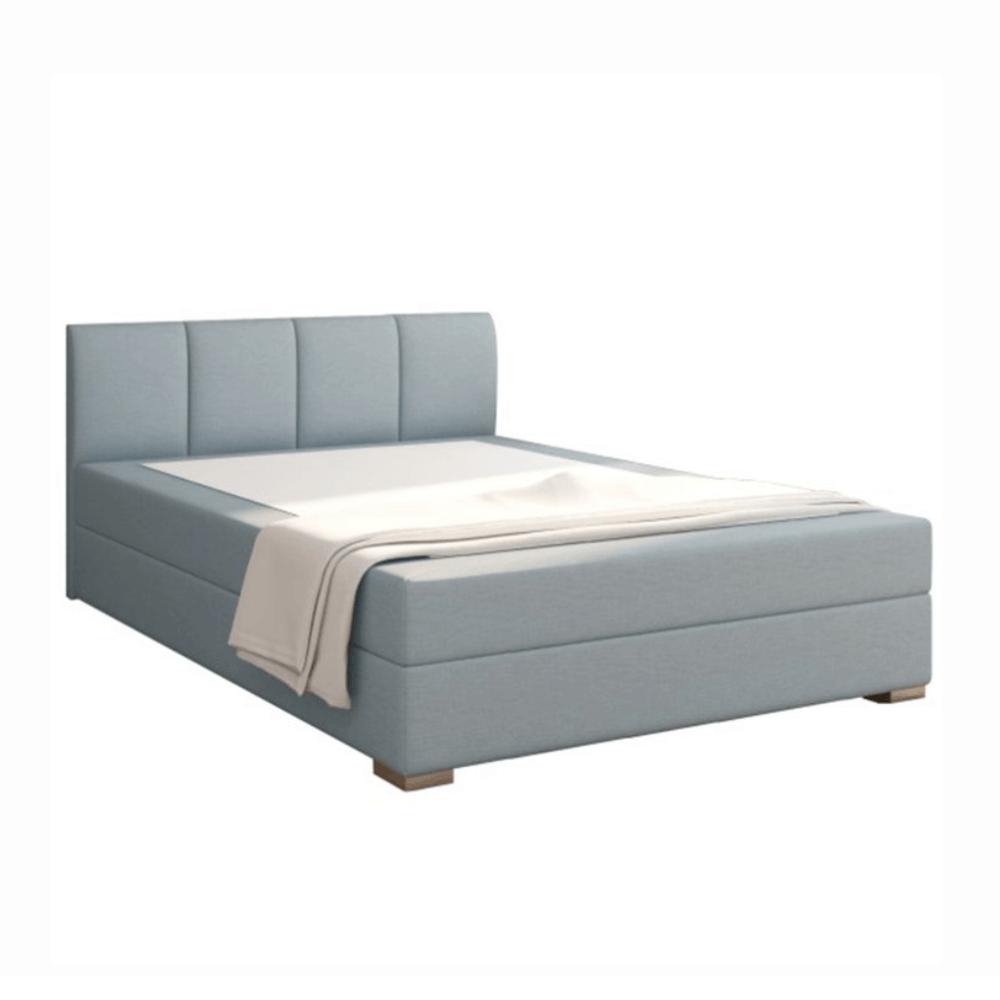 Boxpring ágy 140x200, mentol, RIANA KOMFORT