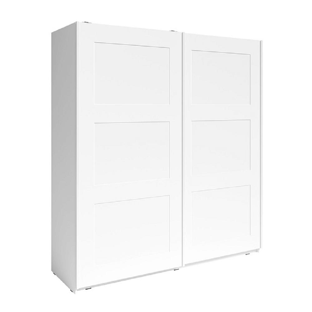 2- ajtós szekrény, fehér, RAMIAK