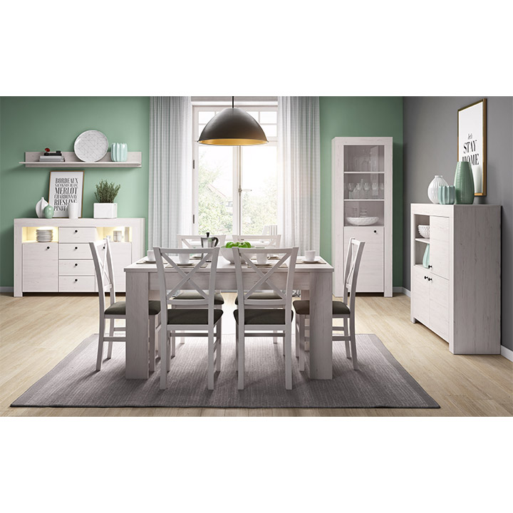 PC stôl, sosna andersen, VINCE RB120, interier
