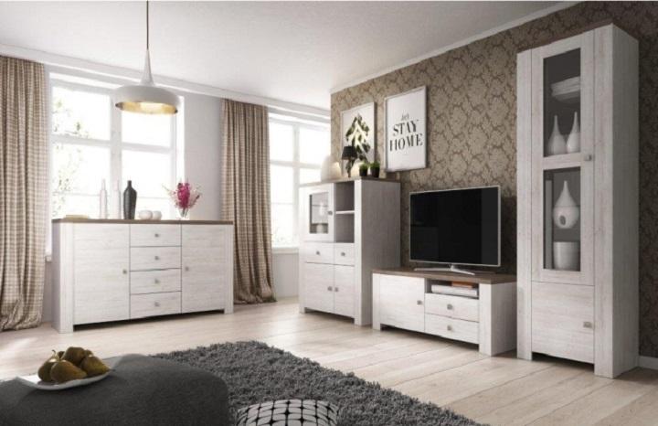 Sektorový nábytok do obývačky Nerita